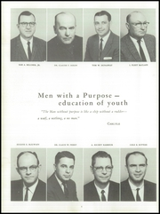 Page 10, 1960 Edition, Anderson High School - Tidings Yearbook (Anderson, SC) online yearbook collection