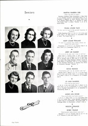 Page 16, 1953 Edition, Inman High School - Panther Yearbook (Inman, SC) online yearbook collection