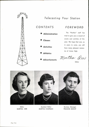 Page 6, 1953 Edition, Inman High School - Panther Yearbook (Inman, SC) online yearbook collection