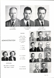 Page 9, 1953 Edition, Inman High School - Panther Yearbook (Inman, SC) online yearbook collection