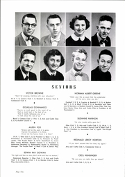 Page 14, 1954 Edition, Inman High School - Panther Yearbook (Inman, SC) online yearbook collection