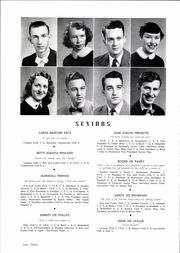 Page 16, 1954 Edition, Inman High School - Panther Yearbook (Inman, SC) online yearbook collection