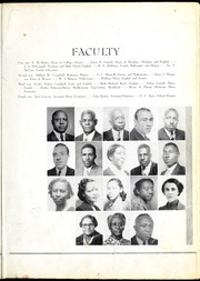 Page 13, 1939 Edition, Morris College - Hornet Yearbook (Sumter, SC) online yearbook collection