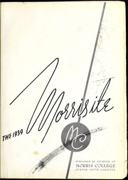 Page 5, 1939 Edition, Morris College - Hornet Yearbook (Sumter, SC) online yearbook collection