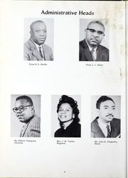 Page 12, 1960 Edition, Morris College - Hornet Yearbook (Sumter, SC) online yearbook collection