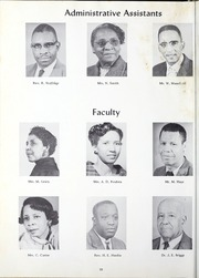 Page 14, 1960 Edition, Morris College - Hornet Yearbook (Sumter, SC) online yearbook collection