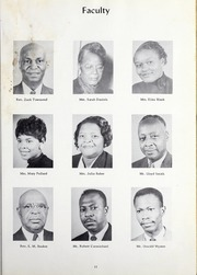 Page 15, 1960 Edition, Morris College - Hornet Yearbook (Sumter, SC) online yearbook collection