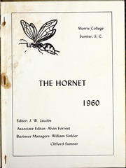 Page 5, 1960 Edition, Morris College - Hornet Yearbook (Sumter, SC) online yearbook collection