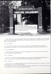 Page 10, 1961 Edition, Morris College - Hornet Yearbook (Sumter, SC) online yearbook collection