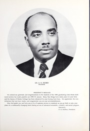 Page 11, 1961 Edition, Morris College - Hornet Yearbook (Sumter, SC) online yearbook collection