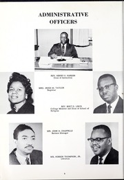 Page 12, 1961 Edition, Morris College - Hornet Yearbook (Sumter, SC) online yearbook collection
