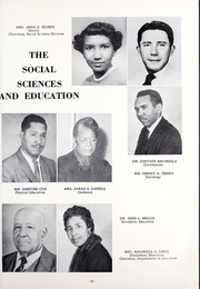 Page 17, 1961 Edition, Morris College - Hornet Yearbook (Sumter, SC) online yearbook collection
