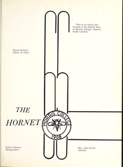 Page 5, 1965 Edition, Morris College - Hornet Yearbook (Sumter, SC) online yearbook collection