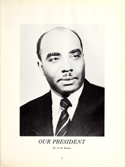 Page 9, 1965 Edition, Morris College - Hornet Yearbook (Sumter, SC) online yearbook collection
