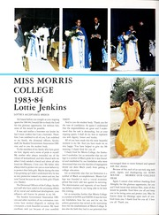 Page 10, 1984 Edition, Morris College - Hornet Yearbook (Sumter, SC) online yearbook collection