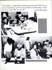 Page 11, 1987 Edition, Morris College - Hornet Yearbook (Sumter, SC) online yearbook collection