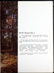 Page 7, 1965 Edition, North Greenville University - Aurora Yearbook (Tigerville, SC) online yearbook collection