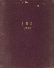 1933 Edition, Florence High School - Florentine Yearbook (Florence, SC)