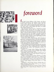 Page 7, 1965 Edition, University of South Carolina Regional Campuses - Garnet and Black Yearbook (Beaufort, SC) online yearbook collection