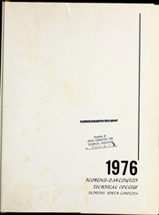 Page 5, 1976 Edition, Florence Darlington Technical College - Baviere Yearbook (Florence, SC) online yearbook collection
