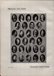 A B Davis High School - Maroon and White Yearbook (Mount Vernon, NY) online yearbook collection, 1933 Edition, Page 18