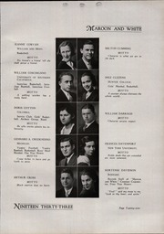 A B Davis High School - Maroon and White Yearbook (Mount Vernon, NY) online yearbook collection, 1933 Edition, Page 33