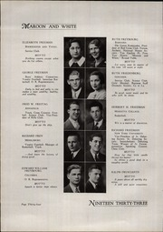 A B Davis High School - Maroon and White Yearbook (Mount Vernon, NY) online yearbook collection, 1933 Edition, Page 38