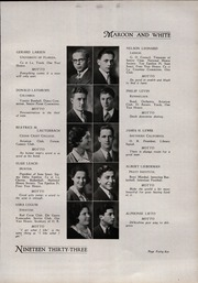A B Davis High School - Maroon and White Yearbook (Mount Vernon, NY) online yearbook collection, 1933 Edition, Page 49