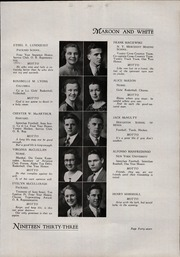 A B Davis High School - Maroon and White Yearbook (Mount Vernon, NY) online yearbook collection, 1933 Edition, Page 51