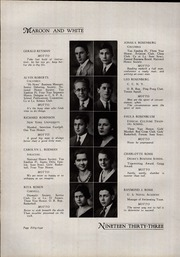 A B Davis High School - Maroon and White Yearbook (Mount Vernon, NY) online yearbook collection, 1933 Edition, Page 58