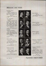 A B Davis High School - Maroon and White Yearbook (Mount Vernon, NY) online yearbook collection, 1933 Edition, Page 68