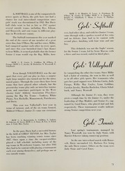 A B Davis High School - Maroon and White Yearbook (Mount Vernon, NY) online yearbook collection, 1950 Edition, Page 75