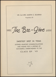 A C Jones High School - Trojan Yearbook (Beeville, TX) online yearbook collection, 1949 Edition, Page 121