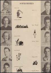 A C Jones High School - Trojan Yearbook (Beeville, TX) online yearbook collection, 1950 Edition, Page 46