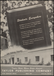A C Jones High School - Trojan Yearbook (Beeville, TX) online yearbook collection, 1951 Edition, Page 138