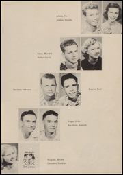 A C Jones High School - Trojan Yearbook (Beeville, TX) online yearbook collection, 1951 Edition, Page 37
