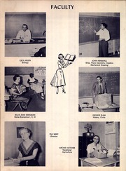 A C Jones High School - Trojan Yearbook (Beeville, TX) online yearbook collection, 1956 Edition, Page 12