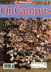 A C Jones High School - Trojan Yearbook (Beeville, TX) online yearbook collection, 1987 Edition, Cover