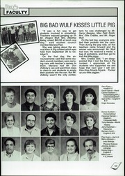 A C Jones High School - Trojan Yearbook (Beeville, TX) online yearbook collection, 1987 Edition, Page 141