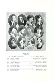 Page 12, 1925 Edition, A L Brown High School - Albrokan Yearbook (Kannapolis, NC) online yearbook collection