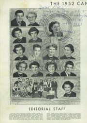 Page 10, 1952 Edition, A L Brown High School - Albrokan Yearbook (Kannapolis, NC) online yearbook collection