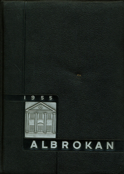 A L Brown High School - Albrokan Yearbook (Kannapolis, NC) online yearbook collection, 1955 Edition, Cover