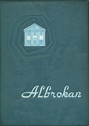 A L Brown High School - Albrokan Yearbook (Kannapolis, NC) online yearbook collection, 1956 Edition, Cover