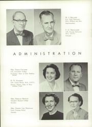 A L Brown High School - Albrokan Yearbook (Kannapolis, NC) online yearbook collection, 1956 Edition, Page 10