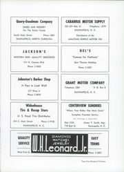 A L Brown High School - Albrokan Yearbook (Kannapolis, NC) online yearbook collection, 1956 Edition, Page 117