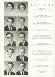 A L Brown High School - Albrokan Yearbook (Kannapolis, NC) online yearbook collection, 1956 Edition, Page 18