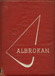 A L Brown High School - Albrokan Yearbook (Kannapolis, NC) online yearbook collection, 1958 Edition, Cover