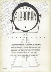 A L Brown High School - Albrokan Yearbook (Kannapolis, NC) online yearbook collection, 1958 Edition, Page 8