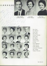 A L Brown High School - Albrokan Yearbook (Kannapolis, NC) online yearbook collection, 1958 Edition, Page 89