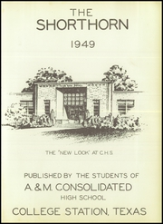 A and M Consolidated High School - Tigerland Yearbook (College Station, TX) online yearbook collection, 1949 Edition, Page 7